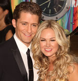 Matthew Morrison and Laura Bell Bundy Royalty Free Stock Images