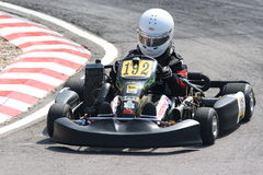 Matthew Solomon in Rotax Junior Max Royalty Free Stock Photography