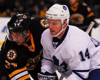 Matthew Stajan, Τορόντο Maple Leafs στοκ φωτογραφία με δικαίωμα ελεύθερης χρήσης