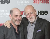 Matthew Weiner e Dominic Chianese Attend 'o evento dos sopranos foto de stock royalty free