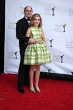 Matthew Weiner, Kiernan Shipka Royalty Free Stock Photo