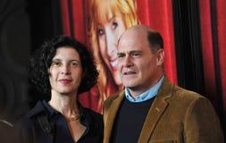 Matthew Weiner & Linda Brettler Royalty Free Stock Images