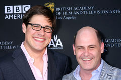 Matthew Weiner, Rich Sommer Stock Photography