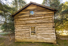 Matthews Cabin an Mabry-Mühle stockfotografie