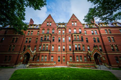Matthews Hall, at Harvard University, in Cambridge, Massachusett Royalty Free Stock Photography