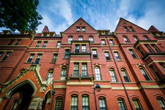 Matthews Hall, at Harvard University, in Cambridge, Massachusett Stock Photography