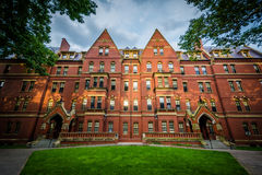 Matthews Hall, at Harvard University, in Cambridge, Massachusett Royalty Free Stock Image