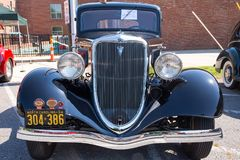 1934 Ford Coupe Automobile Royalty Free Stock Photos