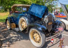 1930 Ford Roadster Automobile Royalty Free Stock Photo
