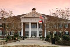 Matthews, Stadhuis NC Royalty-vrije Stock Afbeelding