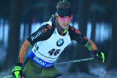 Matthias Bischl - biathlon Stock Afbeeldingen