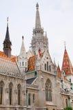 Matthias Church - église de notre Madame, petit groupe architectural de Budapest Photo libre de droits