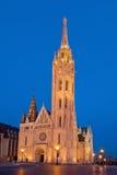 Matthias Church - διάσημο ορόσημο της Βουδαπέστης, Ουγγαρία Στοκ εικόνα με δικαίωμα ελεύθερης χρήσης