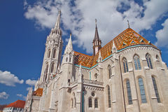 Matthias church Royalty Free Stock Image