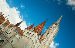 Matthias Church Royalty Free Stock Images