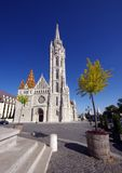 Matthias Church Stock Photo