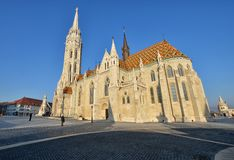 Matthias Church Fotografia Stock