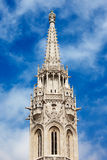 Matthias Church Bell Tower in Budapest Stock Photography