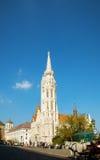 Matthias Church in Boedapest, Hongarije Royalty-vrije Stock Fotografie
