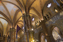 Matthias Church - Boedapest - Hongarije Stock Foto's