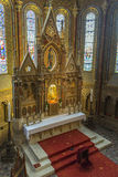 Matthias Church - Boedapest - Hongarije Royalty-vrije Stock Afbeelding