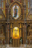 Matthias Church - Boedapest - Hongarije Stock Afbeeldingen