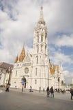 Matthias church at Buda, Budapest Stock Image
