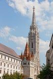 Matthias Church at Buda Castle Royalty Free Stock Photography
