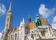 Matthias Church at Buda Castle, Budapest Royalty Free Stock Images