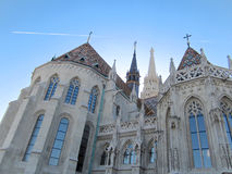 Matthias church - Buda castle - Budapest Stock Photo