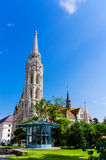 Matthias Church stock photography