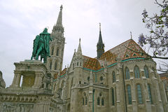 Matthias Church in Buda Castle, Budapest. HUNGARY. Royalty Free Stock Photo