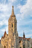 Matthias church in Buda Castle, Budapest, Hungary Royalty Free Stock Photo