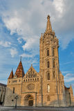 Matthias church in Buda Castle, Budapest, Hungary Royalty Free Stock Images