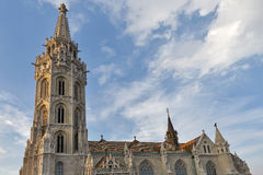 Matthias church in Buda Castle, Budapest, Hungary Royalty Free Stock Photography