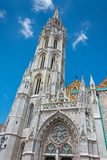 Matthias Church at Buda Castle in Budapest, Hungary Royalty Free Stock Photography