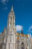 Matthias Church at Buda Castle in Budapest, Hungary Stock Image