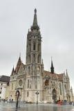 Matthias Church, Buda Castle - Budapest, Hungary Royalty Free Stock Images
