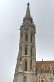 Matthias Church, Buda Castle - Budapest, Hungary Stock Photo