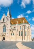 Matthias church in Buda Castle district, Budapest, Hungary Royalty Free Stock Images