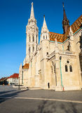 Matthias church in Buda Castle district, Budapest, Hungary Royalty Free Stock Image