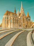 Matthias church in Buda Castle district, Budapest, Hungary Royalty Free Stock Photo