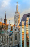 Matthias church in Buda Castle district, Budapest, Hungary Stock Image