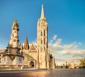 Matthias church in Buda Castle district, Budapest, Hungary Stock Images