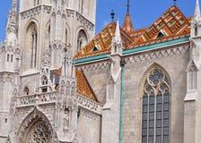 Matthias church in Budapest Royalty Free Stock Photo