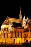 Matthias church in budapest Royalty Free Stock Photos