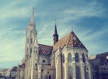 Matthias church, Budapest Stock Photos