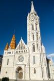 Matthias Church in Budapest Stock Photography