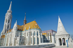 Matthias Church, Budapest Stock Images