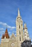 Matthias Church in Budapest royalty free stock image